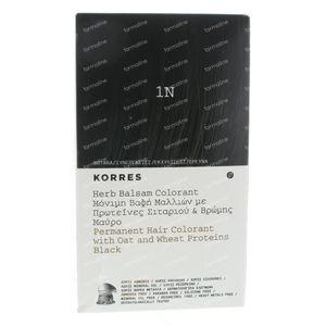Korres Kleurbalsem Black Herb 1N 135 ml
