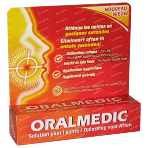 Oralmedic Aphtes Applicateur 1 St
