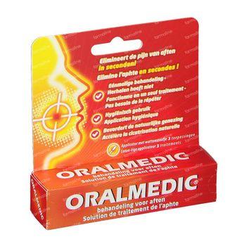 Oralmedic Aften Applicator 1 stuk