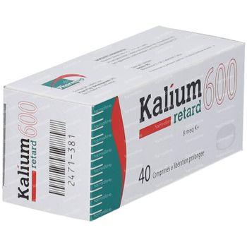 Kalium Retard 600mg 40 comprimés