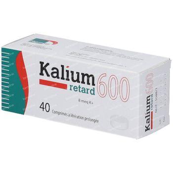 Kalium Retard 600mg 40 tabletten