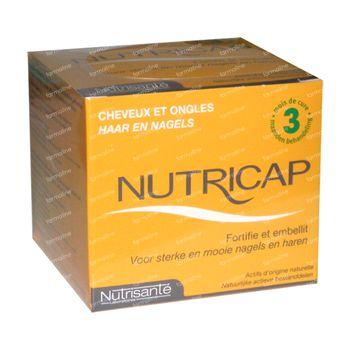 Nutrisanté Nutricap Beauté Fortifiant 3 Mois 180 capsules