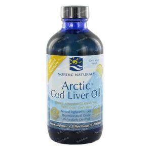 Nordic Arctic Cod Liver Oil Lemon 237 ml
