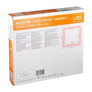 Allevyn Gentle Border 17,5x17,5cm 66800273 10 pièces