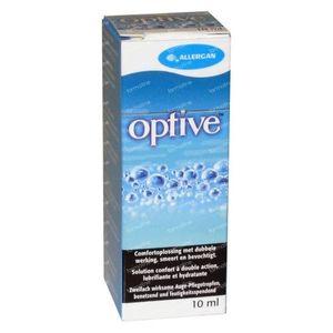 Optive Comfortoplossing Dubbele Werking 10 ml