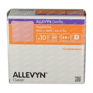 Allevyn Gentle 10cm x 10cm 10 unidades