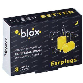 Blox Oordopjes Cylindrisch Schuim Slaap 4 paar