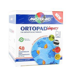 Ortopad Simpaty Junior Nuevo Parche Ocular 50 piezas