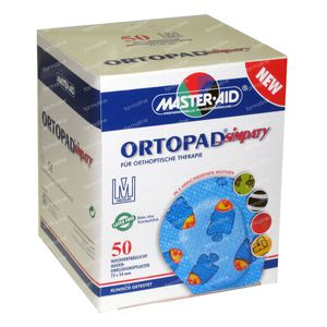 Ortopad Simpaty Medium New Eye Compres 50 St