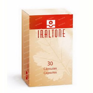 Iraltone Hair Loss - Brittle Nails 30 St Capsulas de accion retardada
