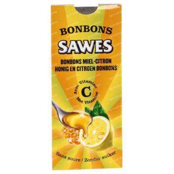 Sawes Bonbon Miel-Citron Sans Sucre 22 g