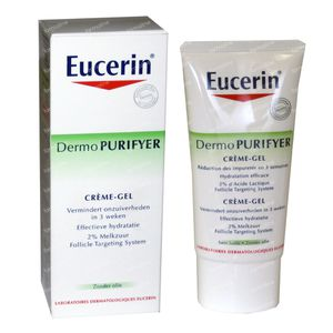 Eucerin Dermo Purifyer Crème-Gel 50 ml