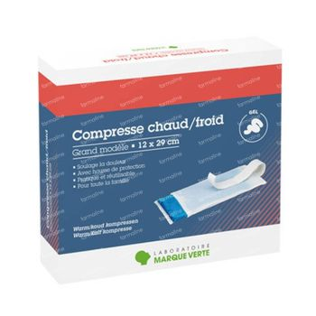 Marque V Compresse Chaud-Froid 10x29cm 1 pièce