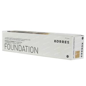 Korres Foundation LF3 + Vitamins ACE IP10 40 ml