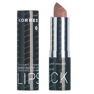 Korres Mango Butter Lipstick SPF10 33 Nude 3,50 g