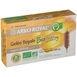 Arko Royal Gelee Royale 1500mg Bio 300 ml ampoules