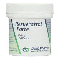 Deba Resveratrol Forte 100Mg 60  capsules