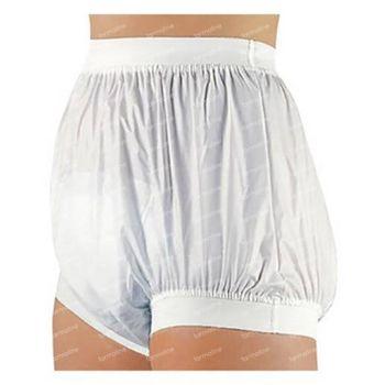 Bota Suprima 1218 Slip PVC Elastique Large Taille/Jambe Unisex Blanc T54 1 slips