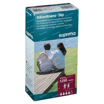 Bota Suprima 1250 Slip PVC Large avec Pressions PL Blanc Medium 1 pièce