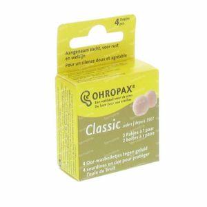 Ohropax Oordoppen Wax 2 stuks