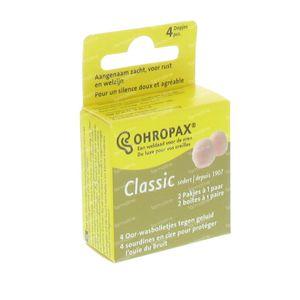 Ohropax Oordoppen Wax 2 paar