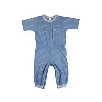 Bota Suprima 4080 Salopette Patient 1/2 Bras/Jambes Jeans Large 1 pièce