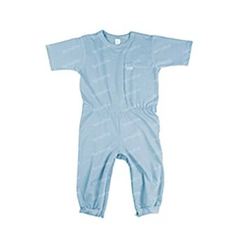 Bota Suprima 4080 Salopette Patient 1/2 Bras/Jambes Bleu Large 1 pièce