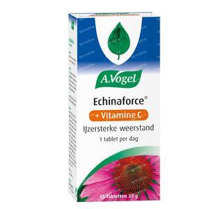 A.Vogel Echinaforce + Vitamine C 45 tabletten