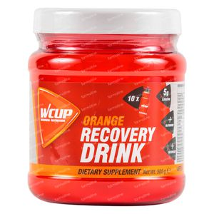 Wcup Recovery Drink Sinaasappel 500 g