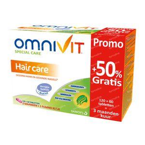 Omnivit Vita Cheveux +50% GRATUIT 120+60  comprimés