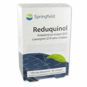 Springfield Reduquinol Softgell 100 mg 60 cápsulas