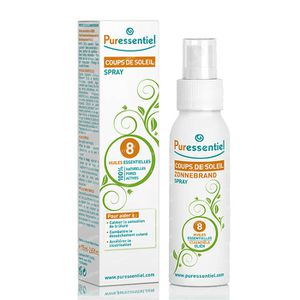 Puressentiel Sun Burn 8 Essential Oil 75 ml Vaporizador