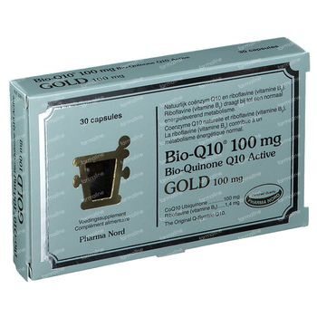 Pharma Nord Bio-Q10 100mg GOLD 30 capsules
