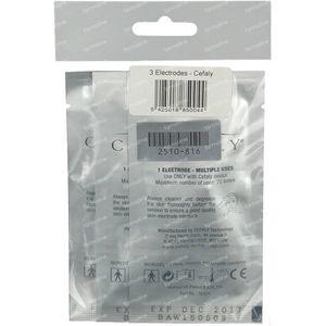 Cefaly Elektrodenkit 3 stuks