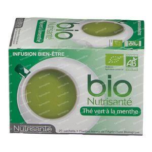 Infusion Bio Thé Vert - Menthe 20 sachets