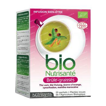 Infusion Bio Brule Graisses 20 sachets