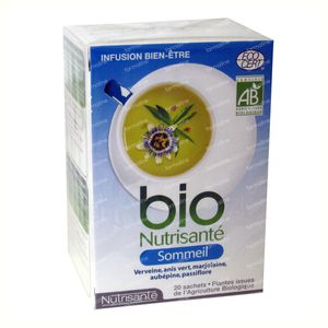 Infusion Bio Sommeil 20 sachets