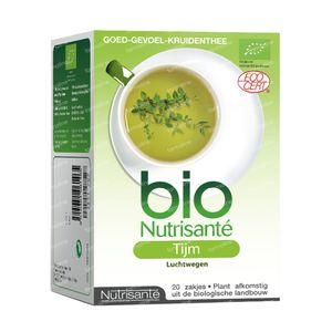 Infusion Bio Thyme 20 St sacchetti