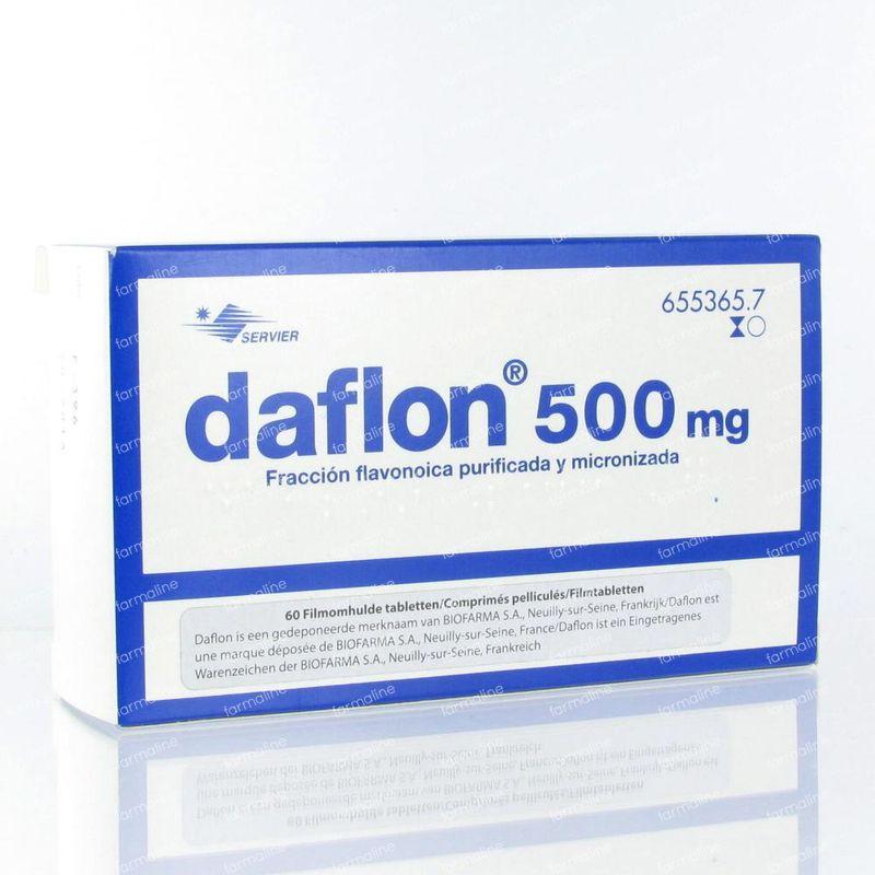 Daflon 500mg 60 comprimés commander ici en ligne