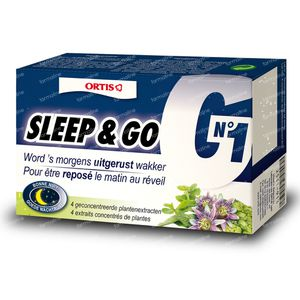 Ortis Sleep & Go 36 tabletten
