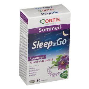 Ortis Sleep & Go G N1 36 comprimés
