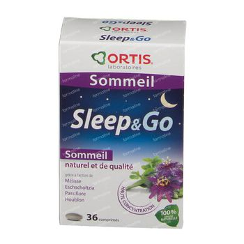 Ortis Sleep & Go 36 tabletten