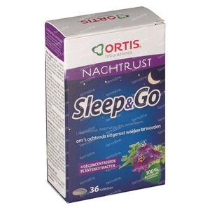 Ortis Sleep & Go G N1 36 comprimidos