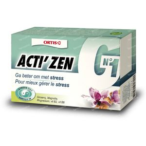 Ortis Acti Zen 36 St Compresse