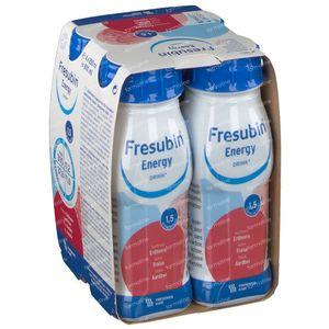 Fresubin Energy Drink Aardbei 4x200 ml