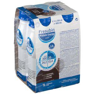 Fresubin Protein Energy Drink Chocolat 4x200 ml