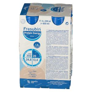 Fresubin Protein Energy Drink Noisettes 4x200 ml