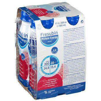 Fresubin Protein Energy Drink Fraise Bois 4x200 ml