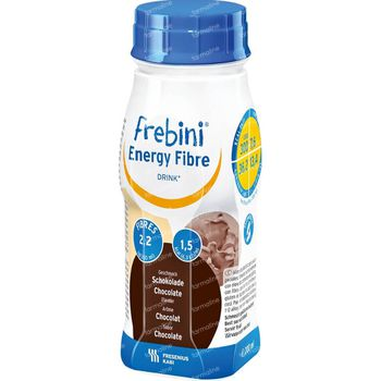 Frebini Fibre Energy Drink Kind Chocolade 800 ml