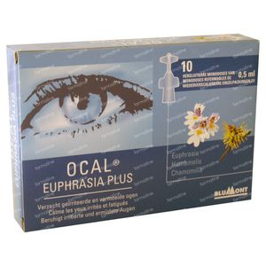 Ocal Euphrasia Plus 5 ml unidosis